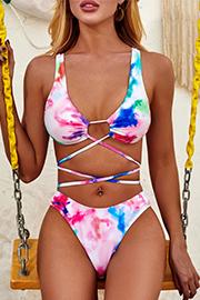 Tie Dye Swimwear