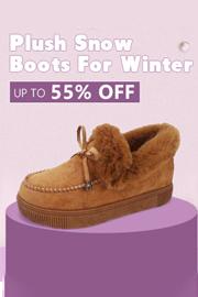 Plush Snow Boots
