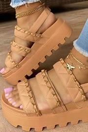 Spring Platform Shoes
