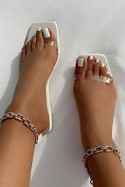 Chain Design Shoes