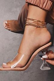 Heeled Slippers