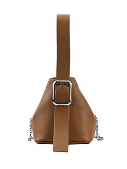 Chic New Triangle Dumpling Handbag For Women