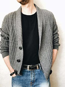 Fashion Urban Casual Knitting Cardigan Sweater