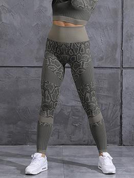 High Waist Fashion Skinny Fitness Long Pants