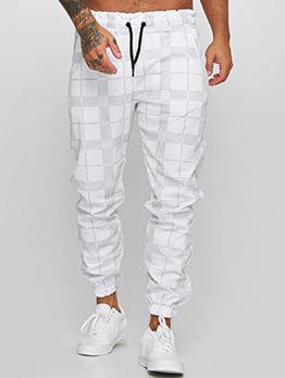 Printed Leisure Versatile Men Long Pants