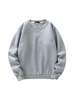 Stylish Casual Crew Neck Sweatshirt For Men