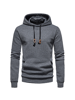 Latest Style Solid Pullover Hoodies For Men