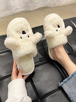 Cute Animal Design House Slippers For Women
