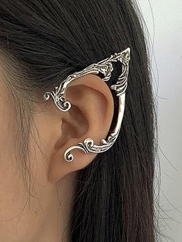 Characteristic Solid Irregular Elf Ear Hook