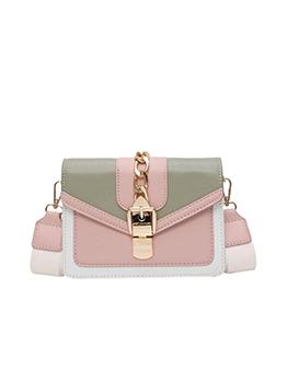 Japanese Street  Contrast Color Shoulder Bag