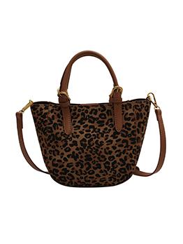 Leopard Hasp Versatile Travel Tote Bag