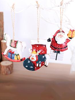 Christmas Tree Decoration Santa Christmas Stocking Pendant