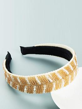 Characteristic Handmade Beaded Pretty Hair Hoop