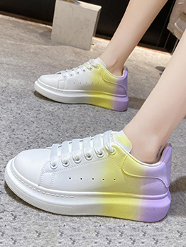 Fresh Gradient Color New Arrival Sneakers
