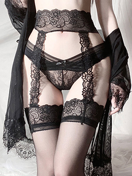Hot Sexy Lace Seduce Stockings For Ladies