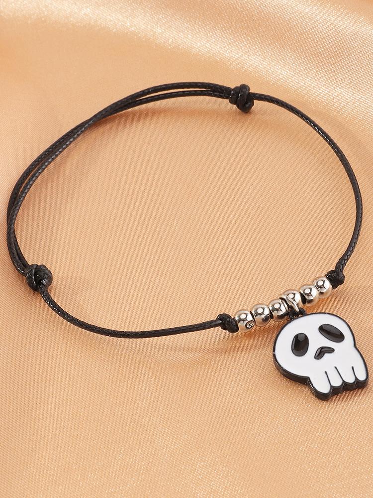 Funny Ghost Pumpkin Skull Halloween Bracelet