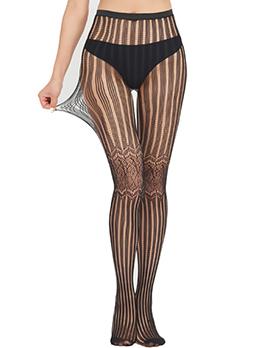 Nightclub Seductive Black Leggings Stockings