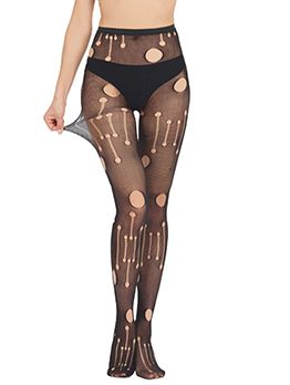Hollow Out Sexy Charming Leggings Stockings
