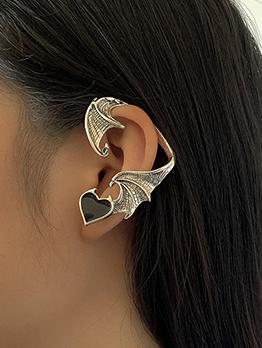 Vintage Geometry Fashion Ear Bones Clip Earrings