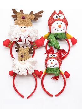 Performance Santa Claus Adorable Christmas Hair Hoop