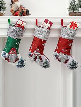 Christmas Decoration Christmas Tree Socks Gift Bag