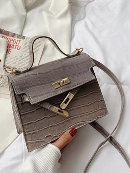 Crocodile Print Fashion Simple Shoulder Bags