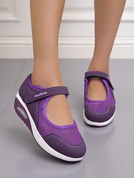 Casual Gauze Fashion Outwear Flats Shoes