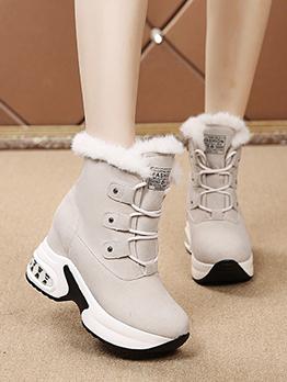 Fashion Winter Warmth Plush Snow Boots