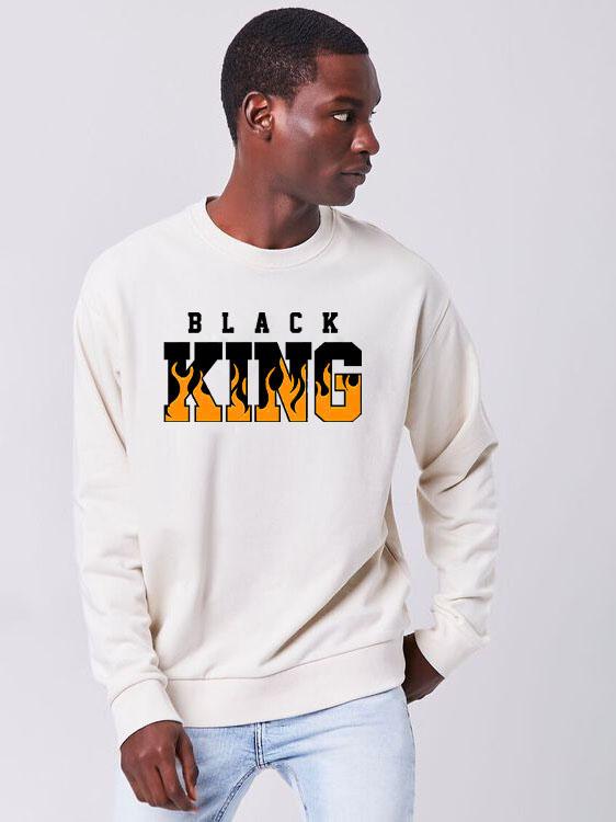 New Letter Long Sleeve Sweatshirt For Men
