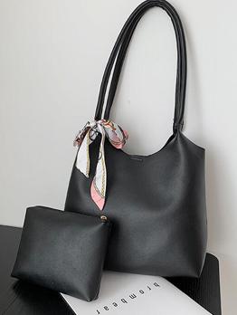 New Fashion Casual Hasp Tote Bag Sets