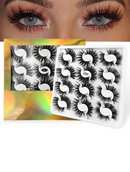 Bushy Solid Multiple Layer False Eyelashes