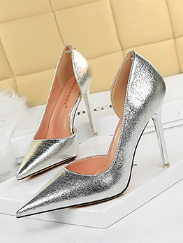 Sexy High Heels Point Toe Shoes For Women
