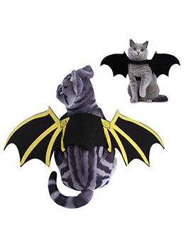 Adorable Halloween Pet Clothes Bat Wings