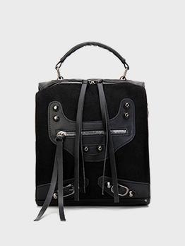 Designer Patchwork Versatile Travel Backpack For Women