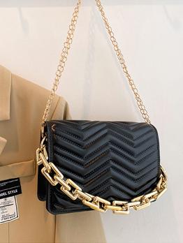 Vintage Chain Chain Shoulder Bag For Women