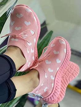 Latest Style Gauze Slip On Sneaker Shoes