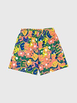 Colorful Printed Loose Men Funny Short Pants