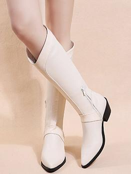Fall Winter Vintage Euramerican Women Boots