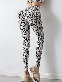 Leopard Butt Lift Sport Fitness Yoga Pants