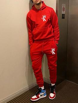 Casual Hoodie Long Sleeve Athletic Wear