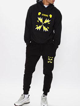 Autumn Hoodie Plush 2 Piece Activewear Sets