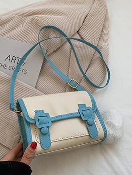 New Arrival Contrast Color Shoulder Bag For Women