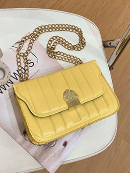 Trendy Hasp Chain Shoulder Bag For Women