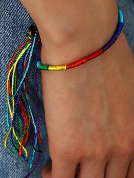 Winding Hand-Woven Adjustable Hand Strap