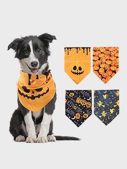 Cute Pet Halloween Dog Saliva Towel