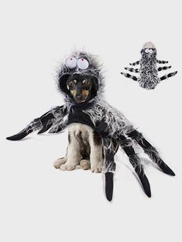 Creative Pet Halloween Funny Big Spider Costume