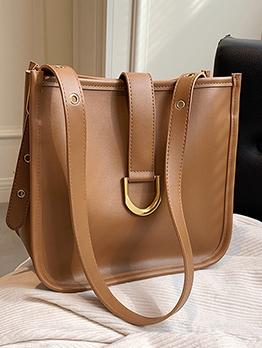 Versatile Travel Shopping Solid Tote Bag