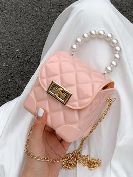 Summer Mini Rhombus Plaid Handbags