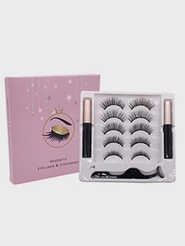Natural Glue-Free 5 Pairs Pack False Eyelashes