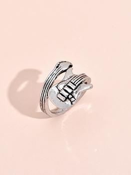 Vintage Hip Hop Adjustable Particular Ring